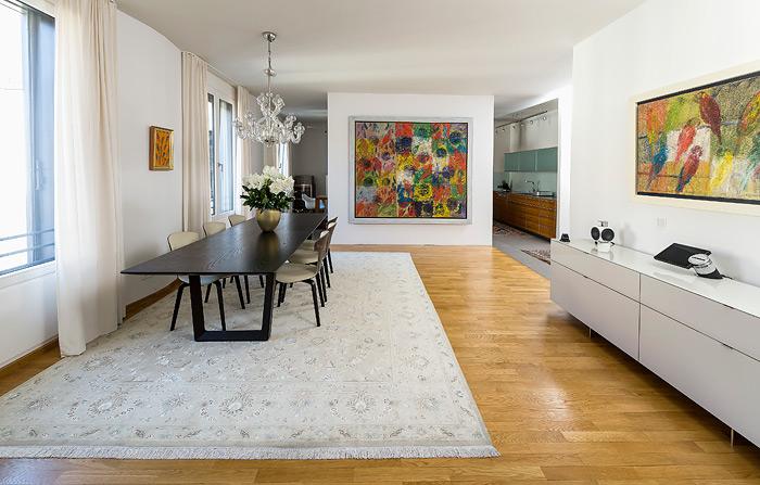 Teppichhaus Sami München – Modernes Stadthaus – Leben mit Teppichen